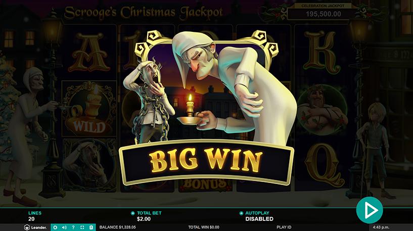 Scrooge's Jackpot Slot Screenshot 1