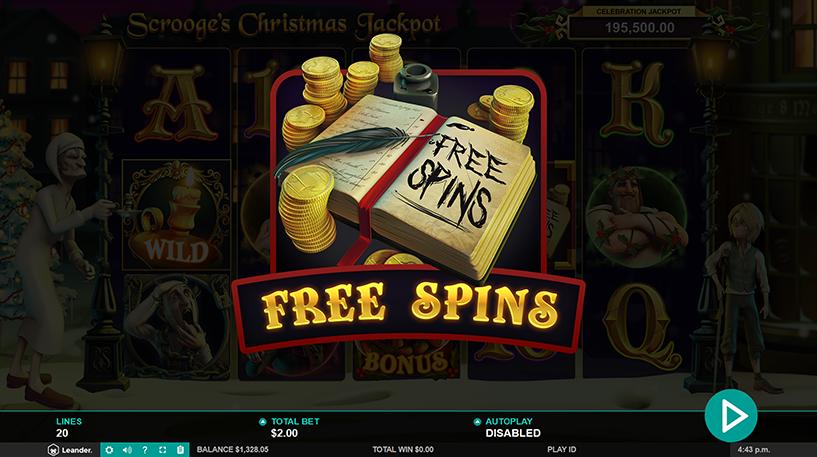 Scrooge's Jackpot Slot Screenshot 2
