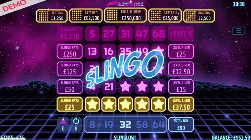 Slingo Advance Screenshot 3