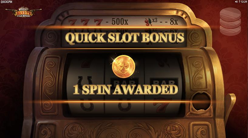 Sticky Bandit: Wild Return Slot Screenshot 2