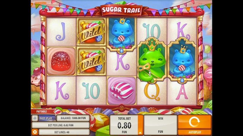 Sugar Trail Slot Screenshot 3