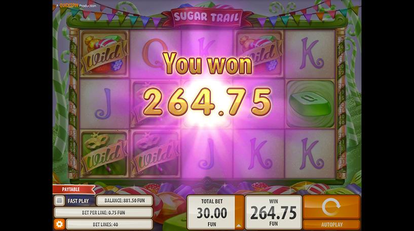 Sugar Trail Slot Screenshot 1