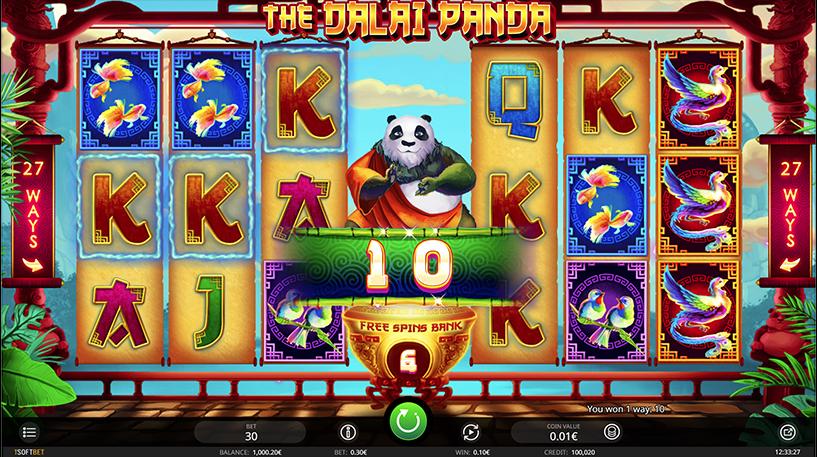 The Dalai Panda Slot Screenshot 2
