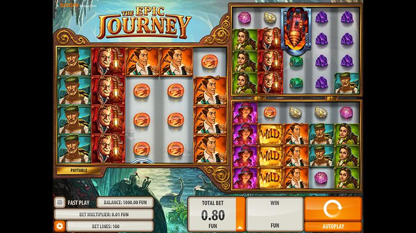 The Epic Journey Slot Screenshot 3