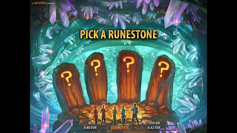 The Epic Journey Slot Screenshot 2