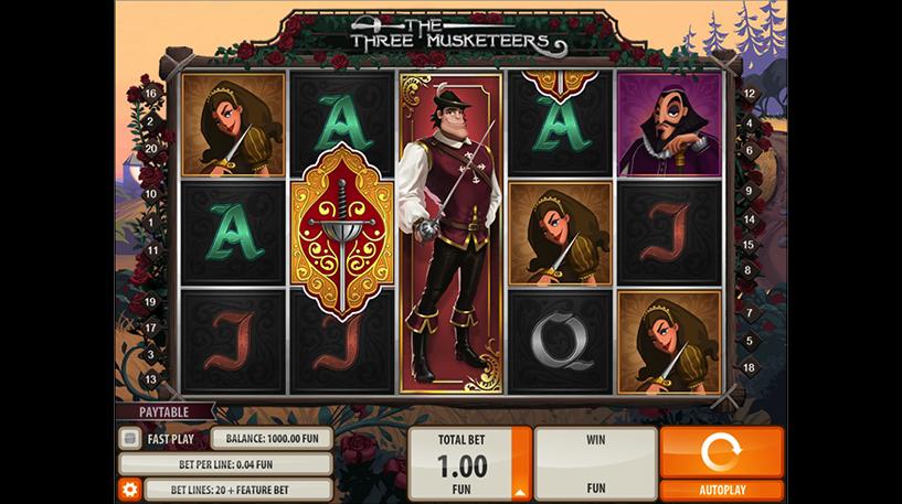 The Three Musketeers Slot Screenshot 2