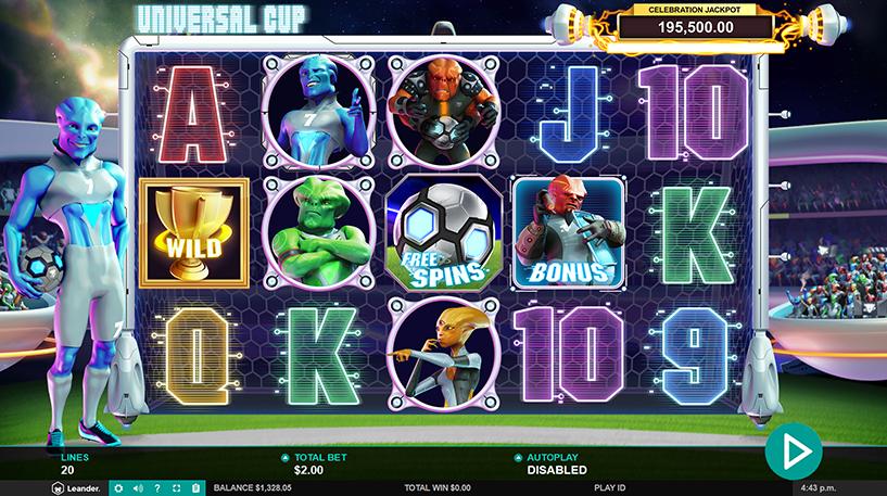 Universal Cup Slot Screenshot 2