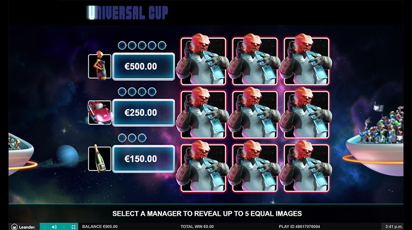 Universal Cup Slot Screenshot 1