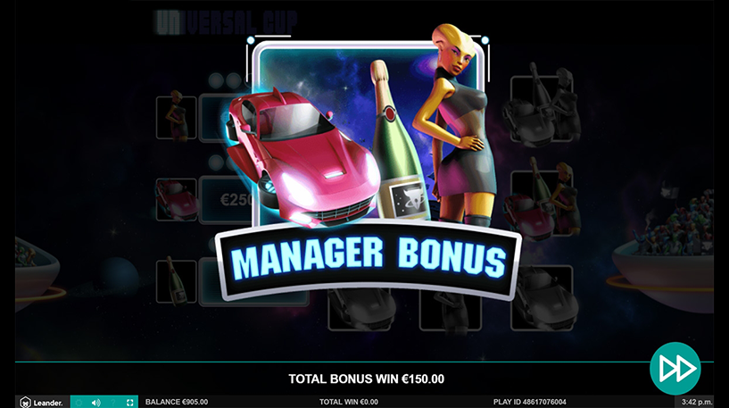 Universal Cup Slot Screenshot 3