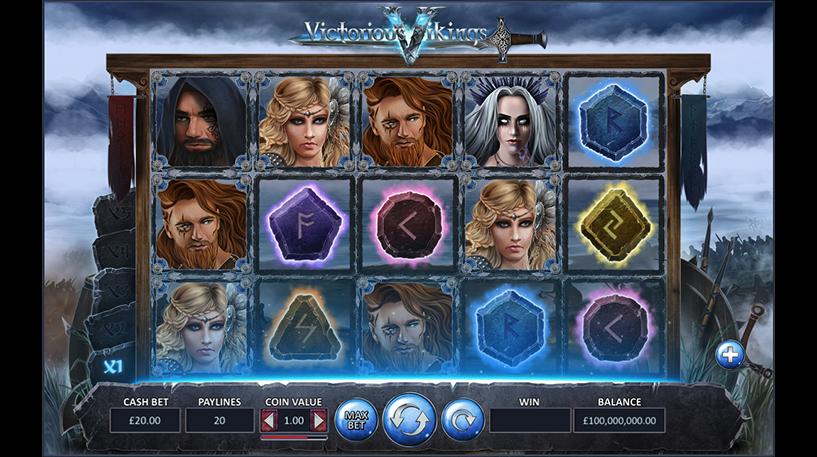 Victorious Vikings Slot Screenshot 3