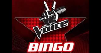 The Voice UK Bingo