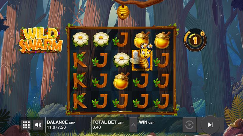 Wild Swarm Slot Screenshot 2