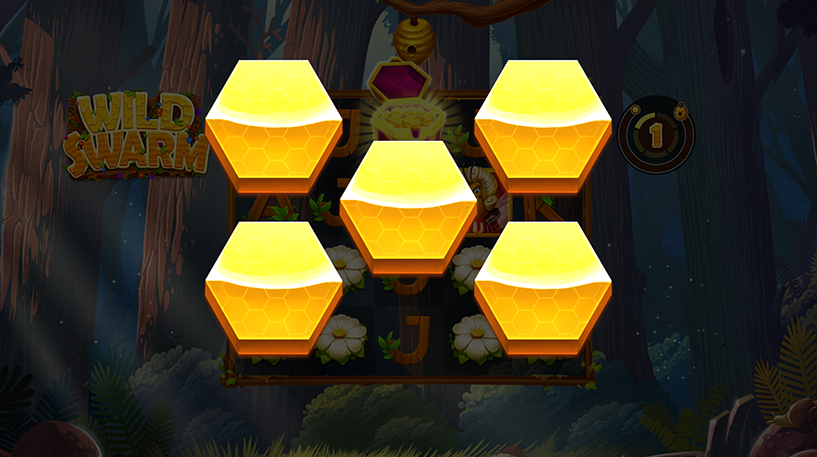 Wild Swarm Slot Screenshot 1