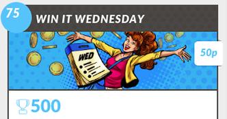 Win it Wednesday Bingo