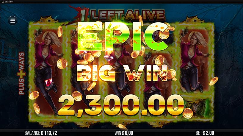 1 Left Alive Slot Screenshot 1