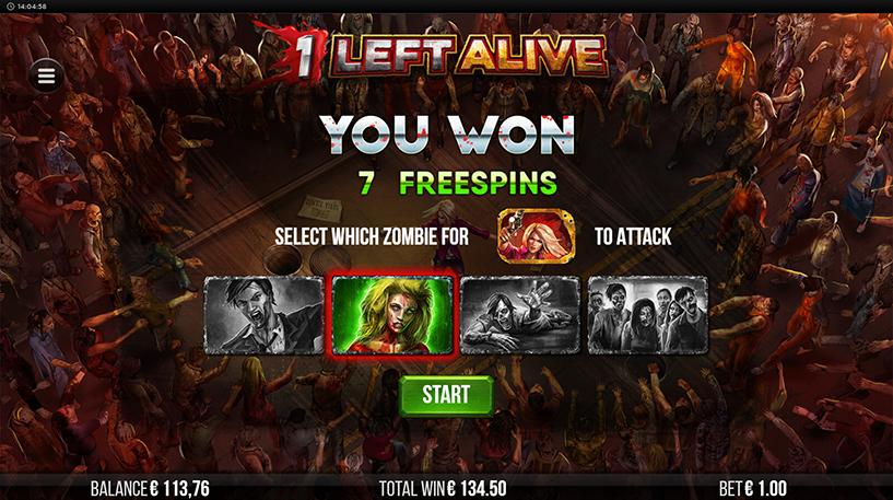 1 Left Alive Slot Screenshot 2