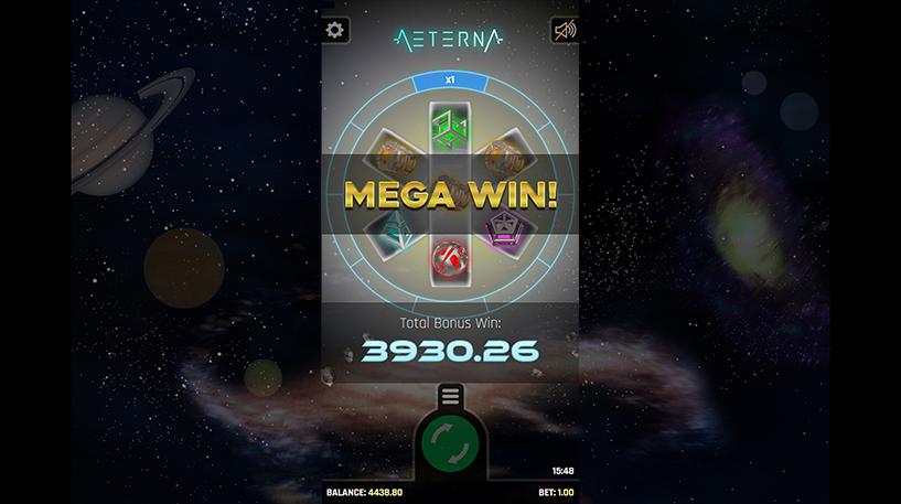 Aeterna Slot Screenshot 2