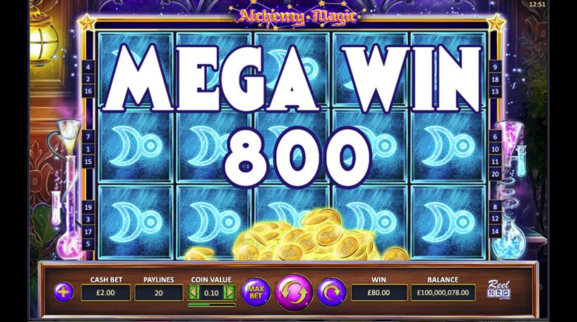 Alchemy Magic Slot Screenshot 1