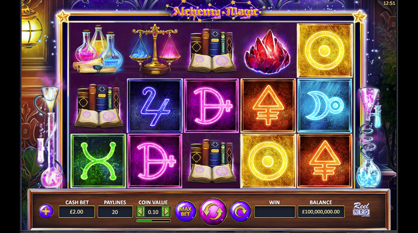 Alchemy Magic Slot Screenshot 3