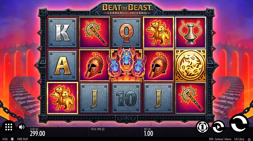 Beat the Beast: Cerberus Inferno Slot Screenshot 3