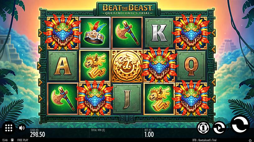 Beat the Beast: Quetzalcoatl's Trial Slot Screenshot 3