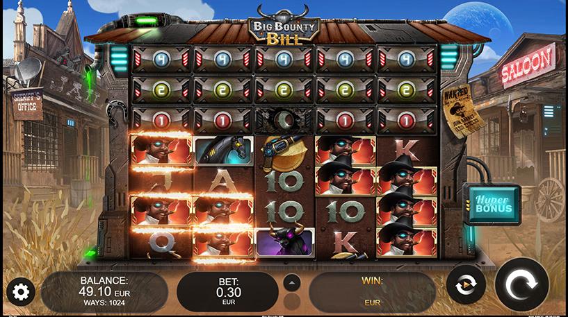 Big Bounty Bill Slot Screenshot 1