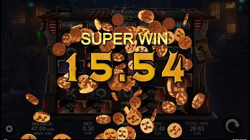 Big Bounty Bill Slot Screenshot 2