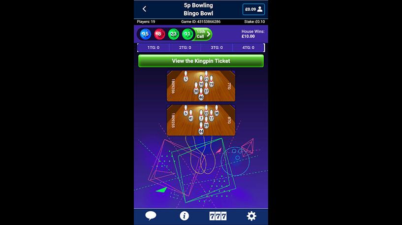 Bingo Bowl Screenshot 2