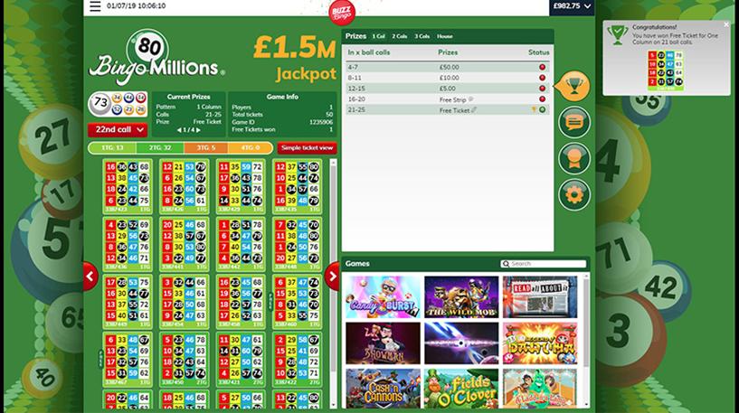 Bingo Millions – 80-Ball Bingo Screenshot 3