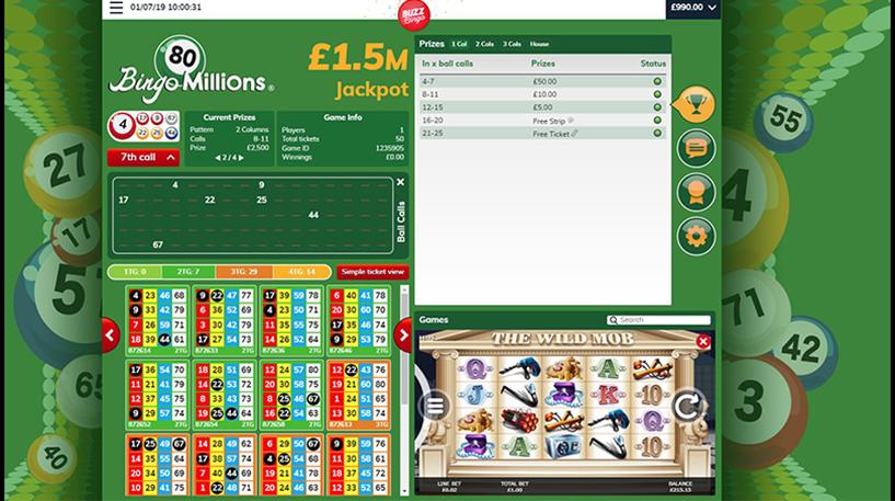 Bingo Millions – 80-Ball Bingo Screenshot 2