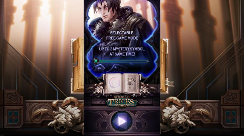 Book of Tricks Slot Screenshot 1