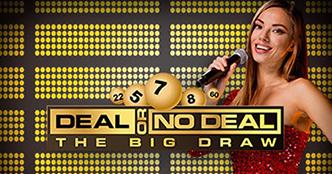 Deal or No Deal the Big Draw Live Bingo