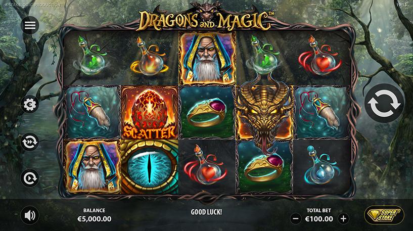 Dragons and Magic Slot Screenshot 3