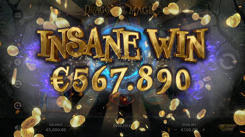 Dragons and Magic Slot Screenshot 2