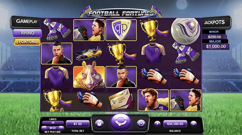 Football Fortunes Slot Screenshot 3