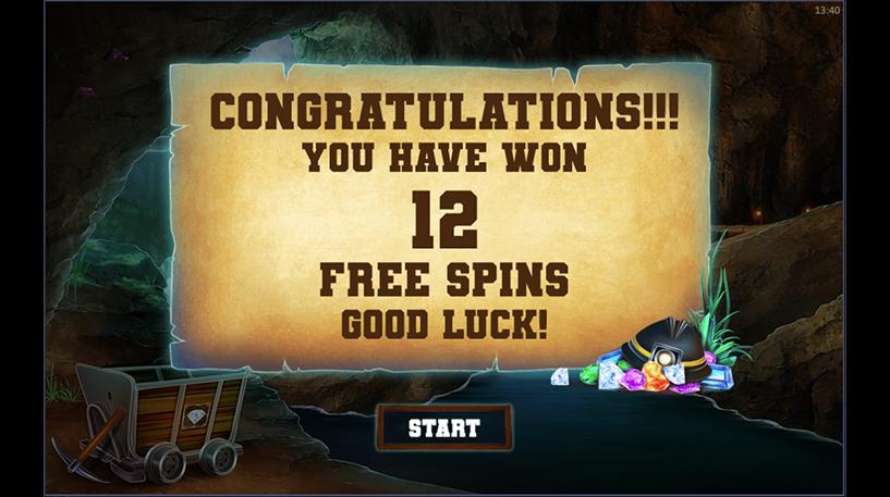 Gem Miner Slot Screenshot 2