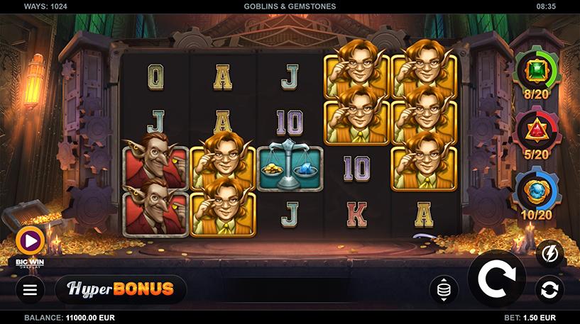 Goblins and Gemstones Slot Screenshot 1