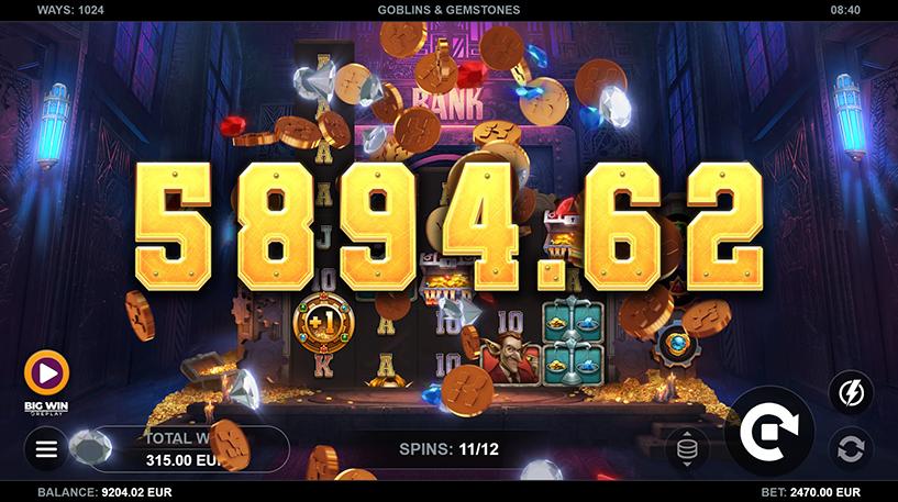 Goblins and Gemstones Slot Screenshot 2