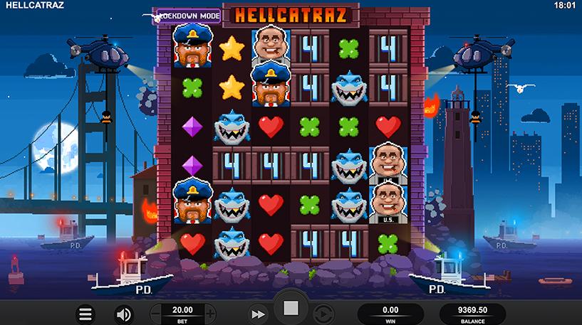 Hellcatraz Slot Screenshot 1