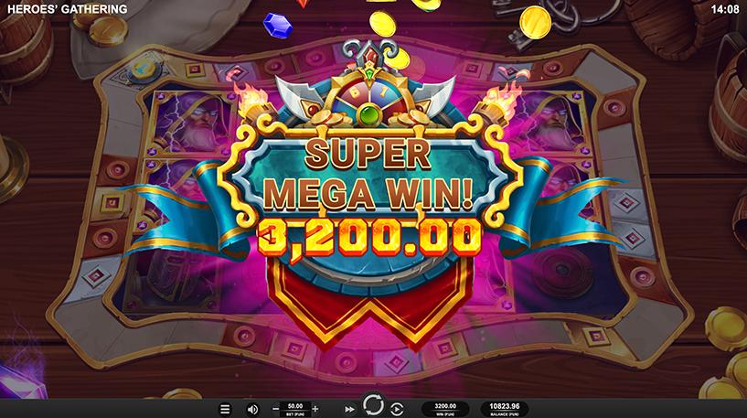 Heroes' Gathering Slot Screenshot 2
