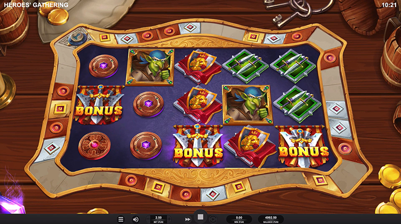 Heroes' Gathering Slot Screenshot 3