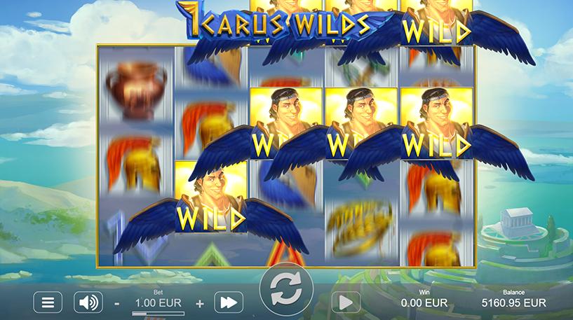 Icarus Wilds Slot Screenshot 3