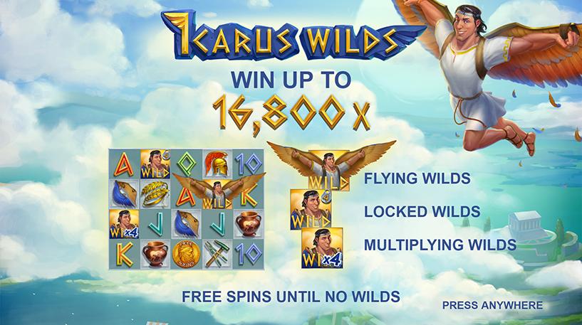 Icarus Wilds Slot Screenshot 1