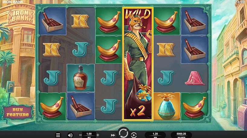 Iron Bank Slot Screenshot 1