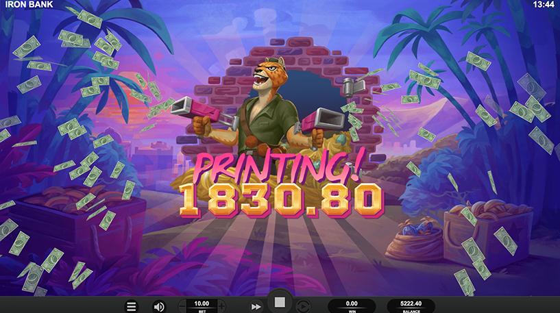 Iron Bank Slot Screenshot 3
