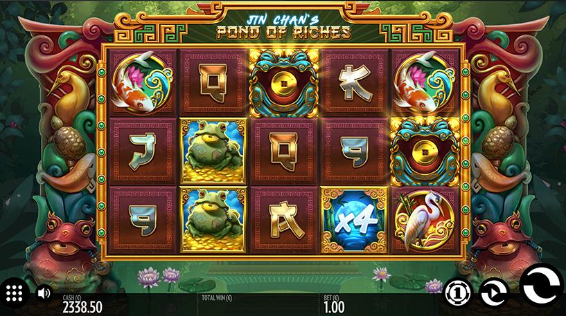 Jin Chan's Pond of Riches Slot Screenshot 1