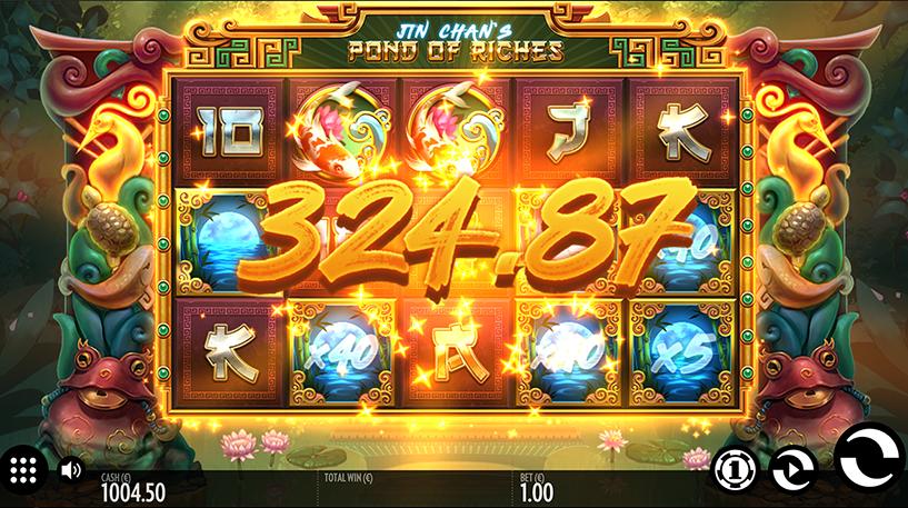 Jin Chan's Pond of Riches Slot Screenshot 3