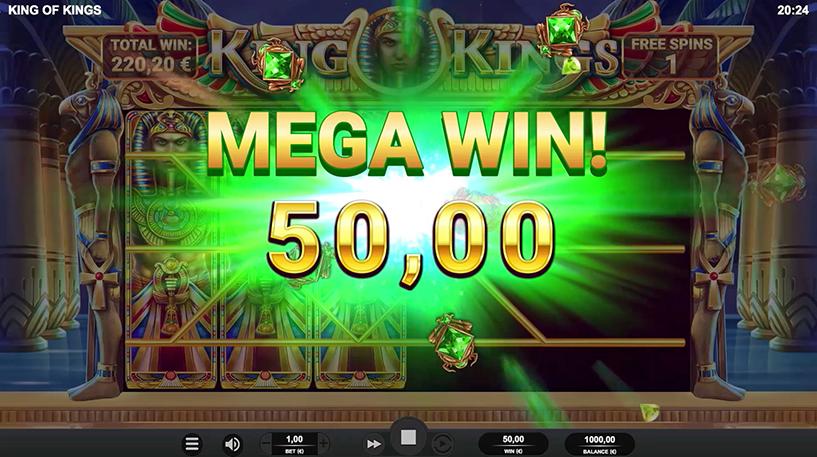 King of Kings Slot Screenshot 2