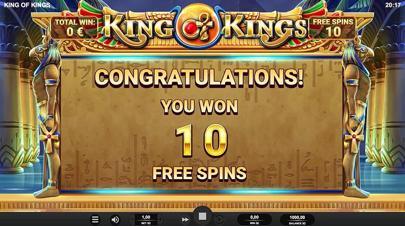 King of Kings Slot Screenshot 3