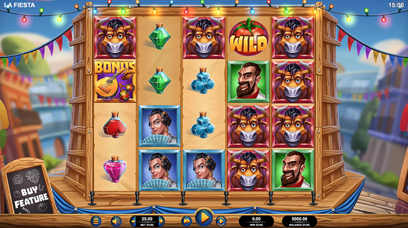 La Fiesta Slot Screenshot 1